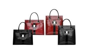 oferta: Bolso de diseño piel de cocodrilo por 9,90 € o 2 por 16,99 € (hasta 79% de descuento) con envío gratuito