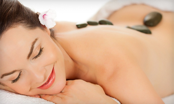 New Happy Day Spa - North Ridgeville: One or Three 90-Minute Massage Experiences with Hot Stones and Foot Scrub at New Happy Day Spa (Up to 63% Off)