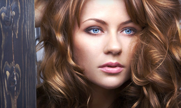 Stiles Salon - Plainfield: Haircut, Blow-Dry, and Style with Optional Partial Highlights or a Color Retouch at Stiles Salon (Up to 51% Off)