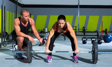 One Month of CrossFit with Optional Personal Training or Two Months of CrossFit at The Training Box (Up to 83% Off)