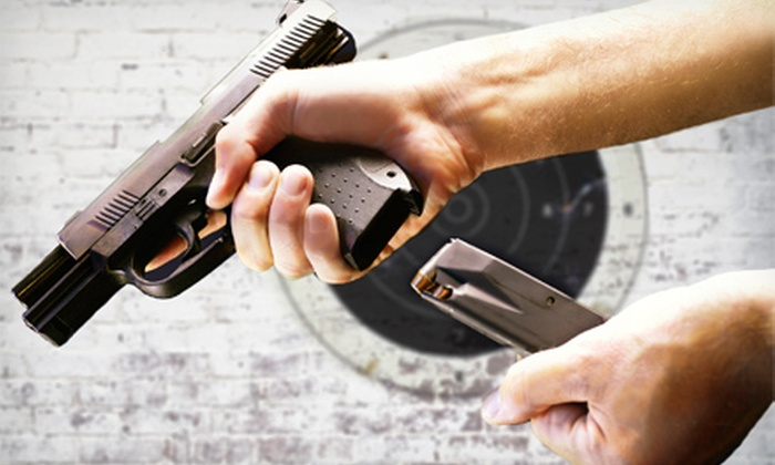 Metro Gun Club - Blaine: One Hour of Pistol-Range Access for One or Two at Metro Gun Club (Up to 53% Off)