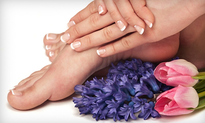 The Glam Spot - Kendale Lakes: Spa Pedicure with Manicure or Shellac Manicure at The Glam Spot (Up to 60% Off)