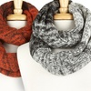 Cozy Color-Block Circle Scarf