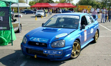 Szkolenie wyścigowe samochodami Subaru Impreza STI, Mitsubishi Lancer EVO Evolution V i więcej od 399 zł w The Twins