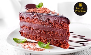 Jeane Bombons: Jeane Bombons - Floresta: kit doce com torta, docinhos e pirulitos de chocolate