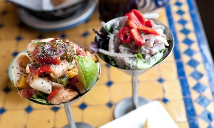 Spanish Lunch or Dinner for Two or Four at Madrid Tapas y Vinos (Up to 45% Off)