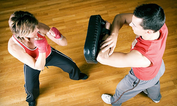 Smash Hit Kickboxing Club - Pontiac Commercial Historic District: $15 for Five 60-Minute Classes with Hand Wraps at Smash Hit Kickboxing Club in Pontiac ($80 Value)