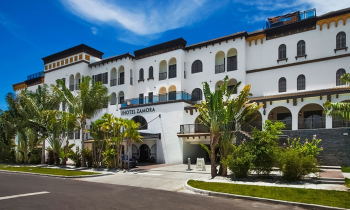 The Hotel Zamora - St. Pete Beach, FL: Stay at The Hotel Zamora in St. Pete Beach, FL. Dates Available into April.