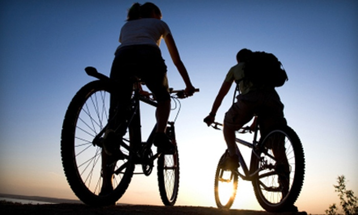 Bike Nation - Downtown: Self-Guided Bike Tour for One, Two, or Four from Bike Nation (Up to 53% Off)