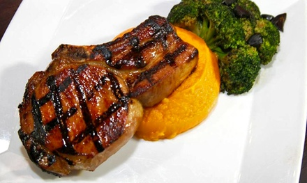 Farm-to-Table Dinner Cuisine at West East All Natural Bar and Bistro (50% Off). Two Options Available.