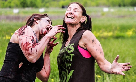 Race Registration for 5K or 15K with Optional Camping Reservation at Zombie Race (Up to 54% Off)
