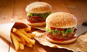 מסעדת meat: מסעדת Meat במרכז הכרמל: ארוחת המבורגר 1+1 + תוספת צ'יפס או פוטטוס, ב-63 ₪ בלבד