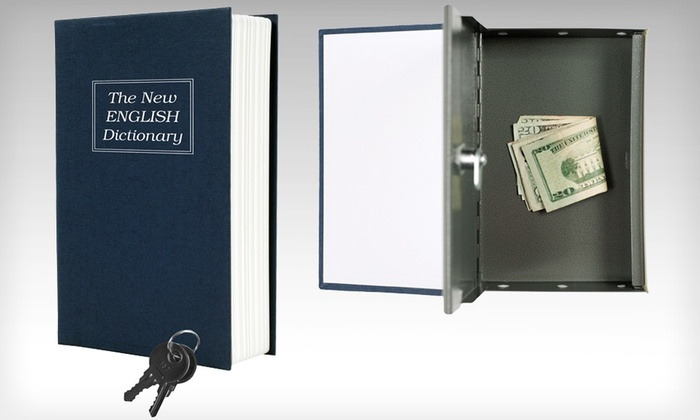 Dictionary Diversion Book Safe: Dictionary Diversion Book Safe with Key Lock. Free Returns.
