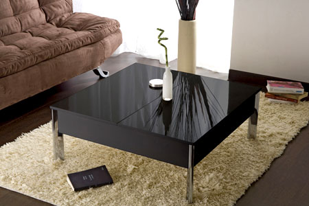 Table Basse Carr E Plateau Relevable Groupon Shopping