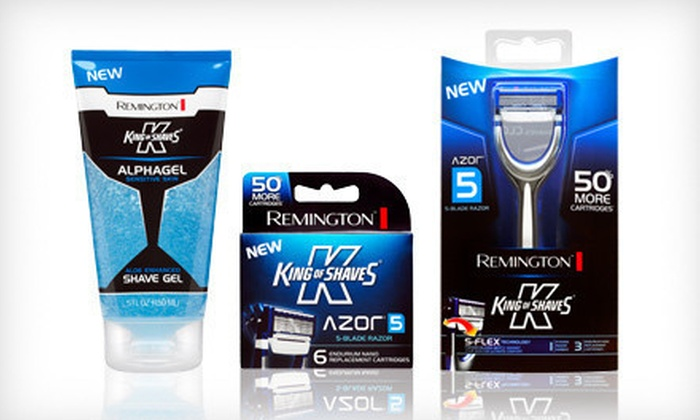 Remington King of Shaves Shaving Kit: $15 for a Remington King of Shaves Shaving Kit ($29.97 List Price)