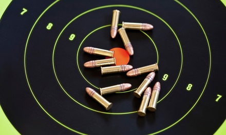 Shooting-Range Packages for One, Two, or Four at Bullet Trap, Inc. (Up to 72% Off)