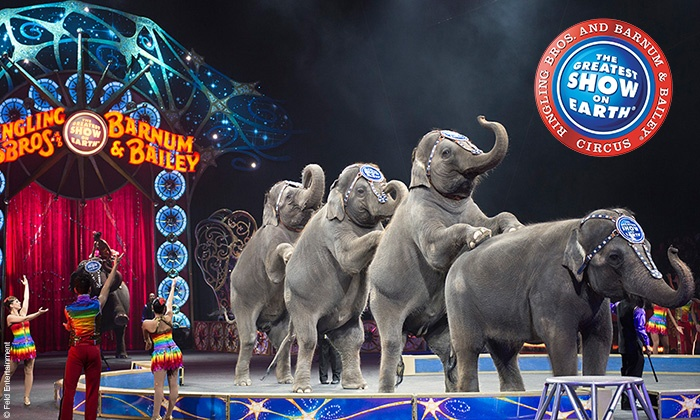 Ringling Bros. and Barnum & Bailey presents Legends - Webster Bank Arena: <i>Ringling Bros. and Barnum & Bailey</i> Presents <i>LEGENDS</i> on October 22–25 (Up to 40% Off)