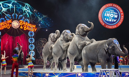 "Ringling Bros. and Barnum & Bailey: ""Legends"" at Frank Erwin Center on August 21–23 (Up to 30% Off)"