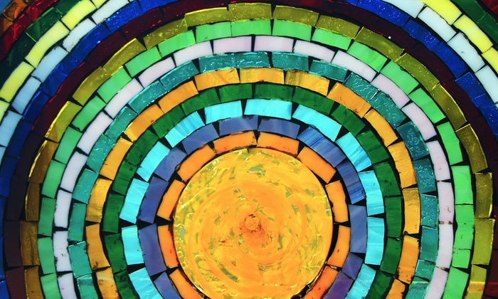 Ocean Stained Glass - Seal Beach: Beginners' Glass-Mosaic-Making or Stained-Glass-Making Class for One or Two at Ocean Stained Glass (Up to 55% Off)