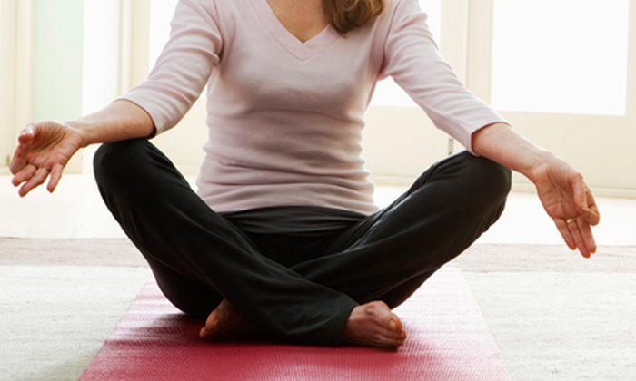 Marietta Center for Yoga and Well Being - Marietta: 5 or 10 Yoga Classes from Cynthia Sammour Belmer at Marietta Center for Yoga and Well Being (Up to 53% Off)