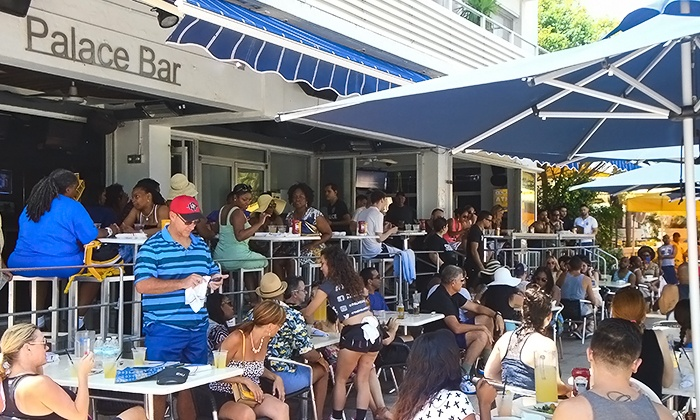 The Palace Bar - South Beach: Saturday Latin Brunch for Two or Four at The Palace Bar (Up to 47% Off)