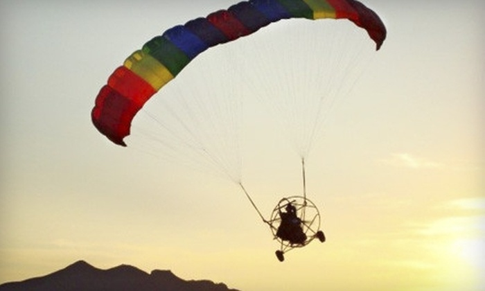 Arizona Powerchutes - Cave Creek: $125 for a Powered-Parachute Lesson from Arizona Powerchutes in Scottsdale ($289 Value)