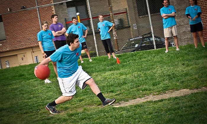 S3 Leagues - Greenpoint: $49 for Female or Male Registration for Eight-Week Coed Kickball League from S3 Leagues ($100 Value)