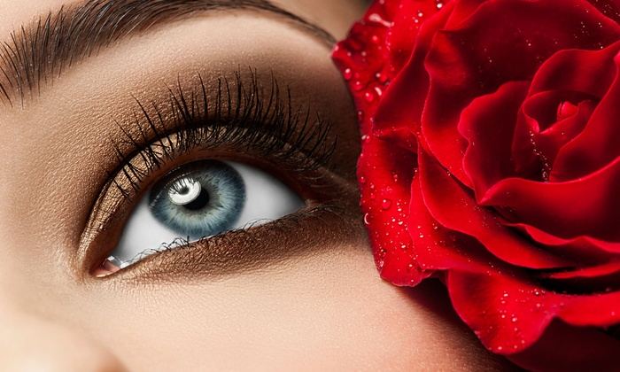 Paradise Nails & Spa - North Jersey: Full Set of Eyelash Extensions with Option for Touchup at Paradise Nails & Spa (Up to 59% Off)