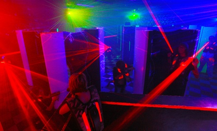 Laser Tag for 2 or 4, or Birthday for Up to 12 with Pizza and Choice of Activity at Saturn 5 (Up to 55% Off)