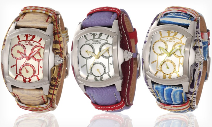 Invicta Lupah Watches for Men or Women: Invicta Lupah Watches for Men or Women (Up to 93% Off). 11 Styles Available. Free Shipping and Returns.