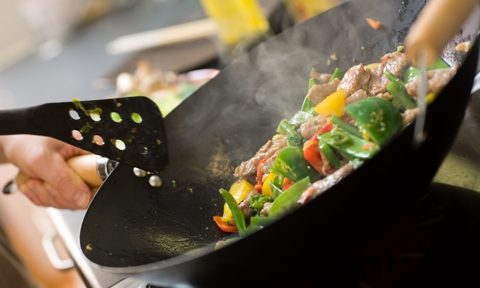 The Heart Of The Gourmet - Beachway Estates: Wok-Demonstration Class for One or Two at The Heart Of The Gourmet (Up to 50% Off)