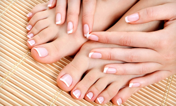 Susan at Belladonna Salon - Broad Ripple: Traditional or Gel Manicure with Perfect Pedicure from Susan at Belladonna Salon (Up to 51% Off)