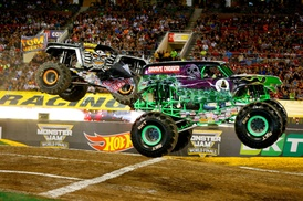 Monster Jam: Monster Jam on Saturday, October 1 at 7 p.m. or Sunday, October 2, at 2 p.m.