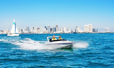 $86 for a Harbor Speedboat Tour for Two from Speed Boat Adventures ($129.80 Value)