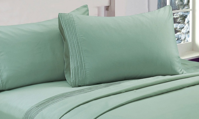 Essentially Home Living Microfiber Sheet Sets: Essentially Home Living Microfiber Sheet Sets with Pleated Hems. Multiple Colors Available. Free Shipping and Returns.