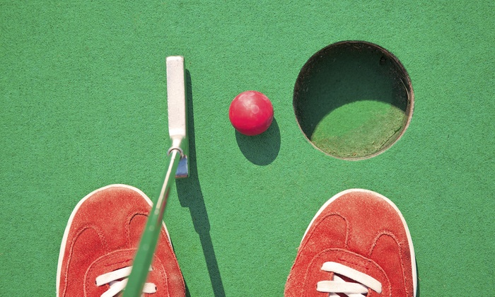 Lights Out Mini Golf - Taunton: $16 for $32 Worth of Glow in the Dark Mini Golf — Lights Out Mini Golf