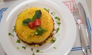 Tchê Potato -  Batataria e Panquecaria: Tchê Potato - Água Rasa: batata inglesa ou suíça para 1, 2 ou 4 pessoas