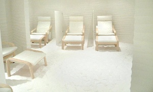 Salt Synergy: 45-Minute Salt Room Therapy - One ($19) or Two Sessions for One Person ($35) at Salt Synergy, Bundall (Up to $80 Value)