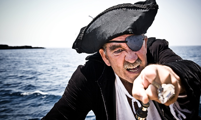 Dark Star Pirate Cruises - Wildwood Crest: One-Hour Pirate Cruise for Two or Four from Dark Star Pirate Cruises (Half Off)