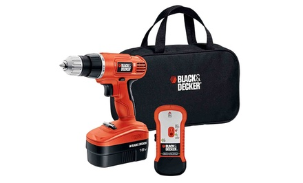 Black & Decker 18V Drill and Stud Finder