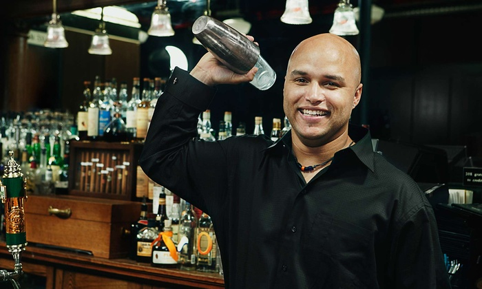 Famous Bartending School - Newark: 16-Hour Bartending Certification Class for One or Two from Famous Bartending School (Up to 53% Off)