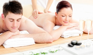 $99 For A Couples Massage With Sparkling Beverage And Chocolate At Intermission Spa ($220 Value)