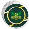 Oregon Ducks 2014 NCAA Football Championship Coaster 4-Pack