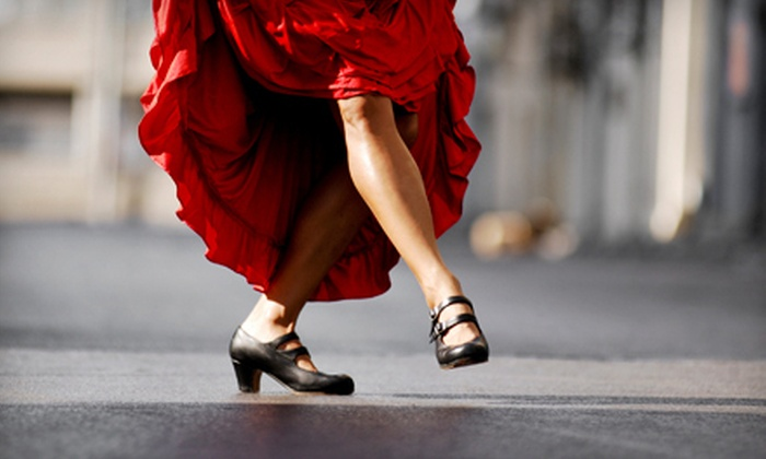 Raices de Arte Espanol - Los Angeles Heights - Keystone: Drop-in Flamenco Class for Two or One Month of Flamenco Lessons at Raices de Arte Espanol (Up to 57% Off)