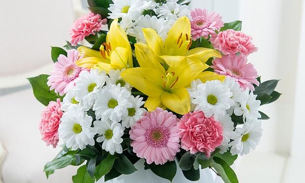 Debenhams flowers bouquet groupon goods