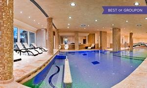 Fiuggi Terme Resort & SPA: Percorso benessere illimitato di coppia al Fiuggi Terme Resort & Spa con cena di 4 portate (sconto fino a 46%)
