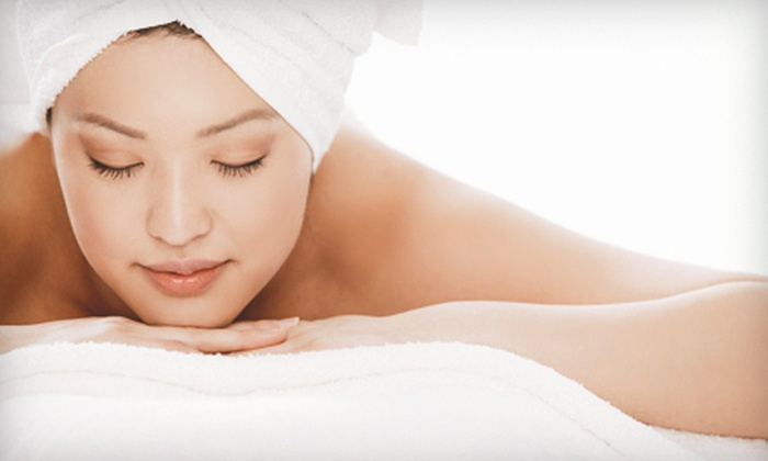 blush a day spa - Sonoma: $149 for a Spa Day with Hydrating Collagen Facial, Brow Shaping, and Massage or Scrub at blush a day spa (Up to $390 Value)