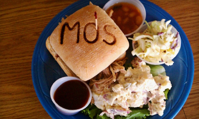 Mo's Place - Murray: $10 for $20 Worth of Breakfast Food, Sandwiches, and Barbecue at Mo's Place
