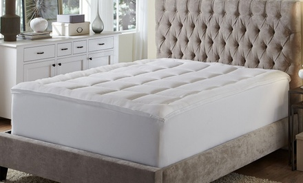 Dream Cloud Loftwork Fiberbed Mattress Pad with Skirt