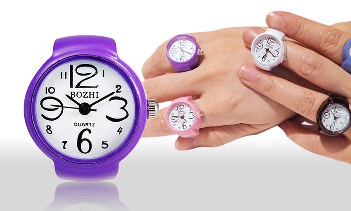 100% autentico cd07c 8005b Anello orologio Bozhi. Vari colori disponibili a 9,99 €